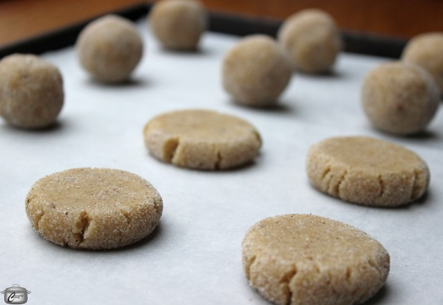 Chewy Chai Spiced Cookies Dougballs