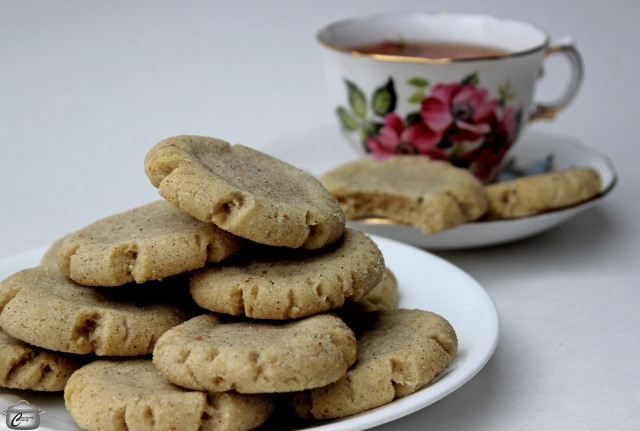 Chewy Chai Spiced Cookies