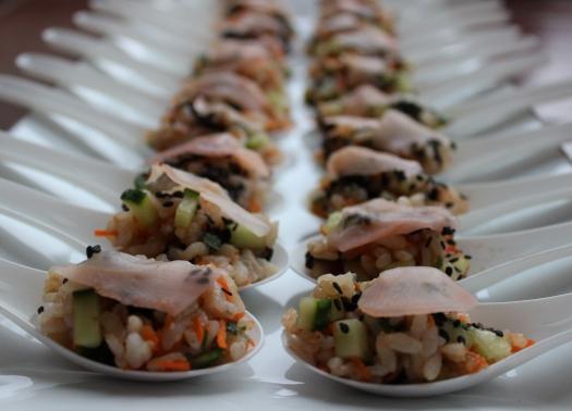 Sushi Salad Spoons