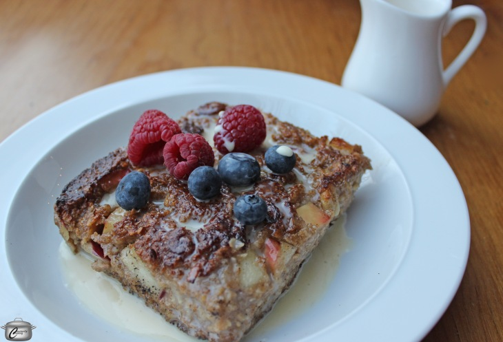 Twice-cooked oatmeal squares