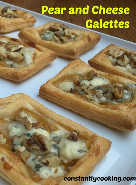 pear and cheese galette pinnable