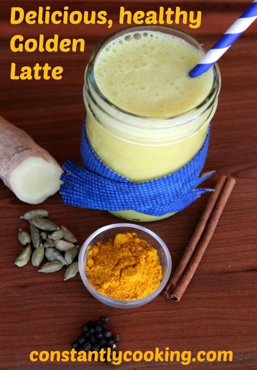 Golden Latte Pinterest