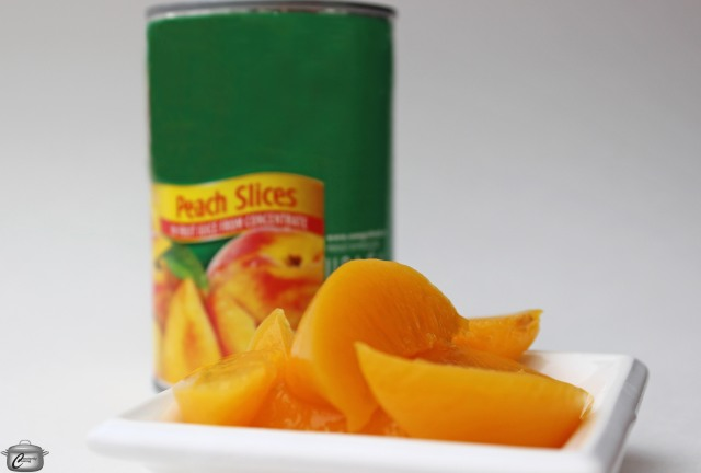Canned California Cling Peaches
