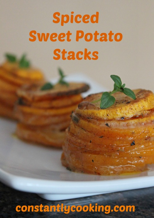 Spiced Sweet Potato Stacks Pinterest