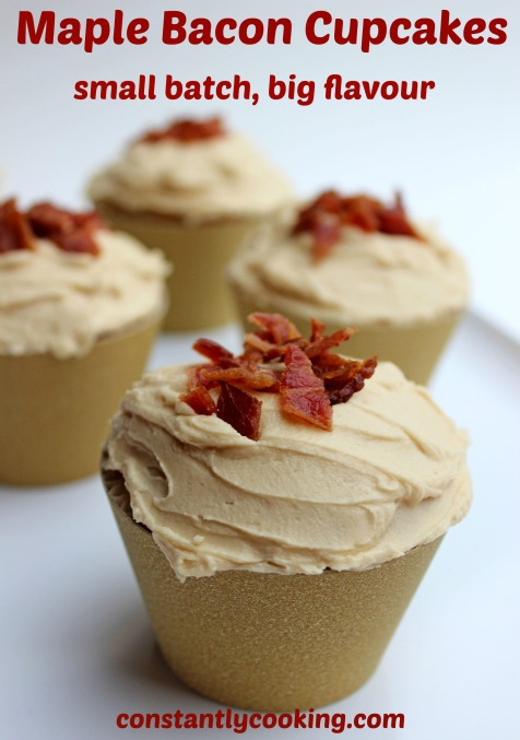 Maple Bacon Cupcake Pinterest