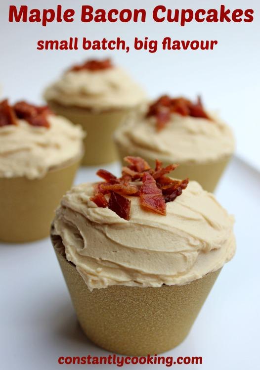 Maple Bacon Cupcake Pinterest