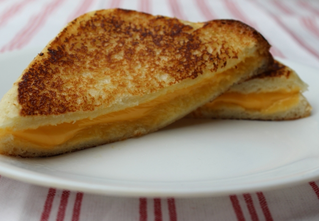 Build a better grilled cheese with mayonnaise instead of butter
