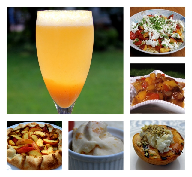 different ways to use fresh peaches