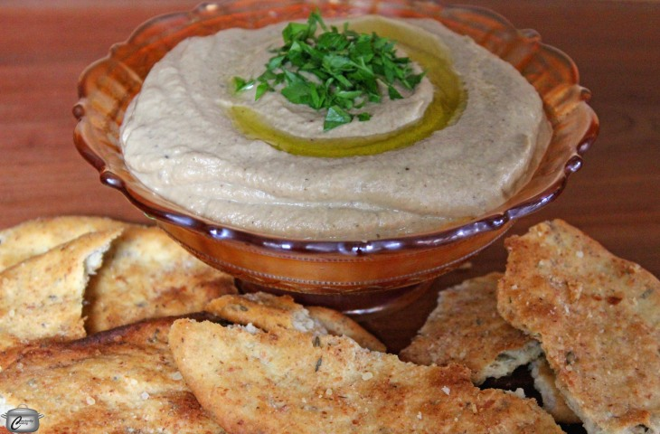 smoked eggplant spread