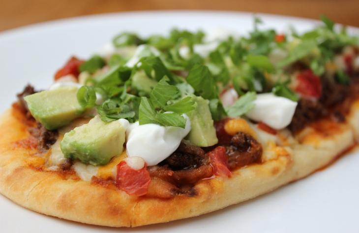 Tasty Taco Pizza