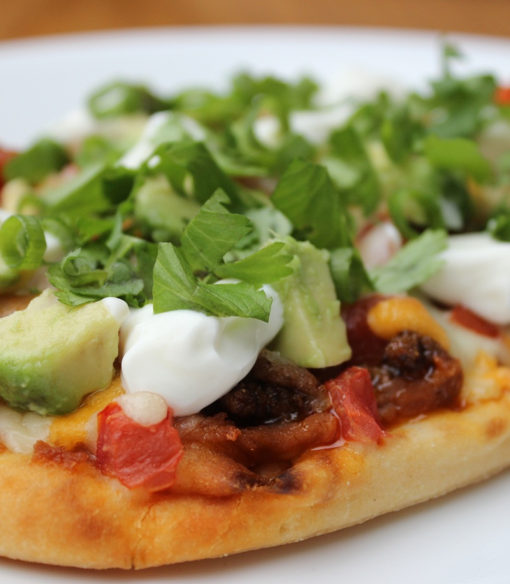 Tasty Taco Pizza