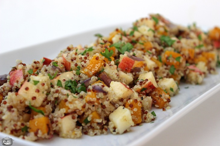 quinoa side dish or meatless main