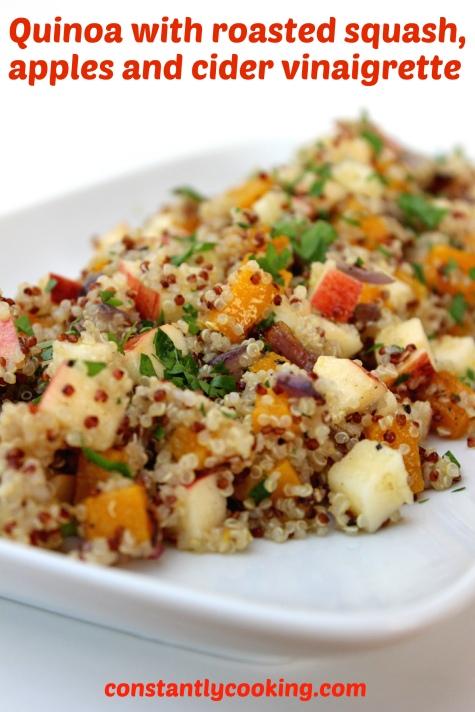 quinoa salad for fall