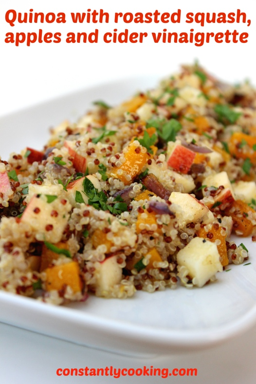 quinoa salad for fall
