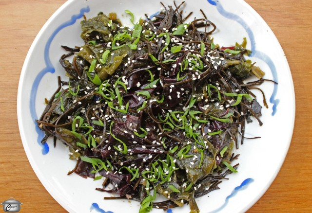 Japanese-style seaweed salad