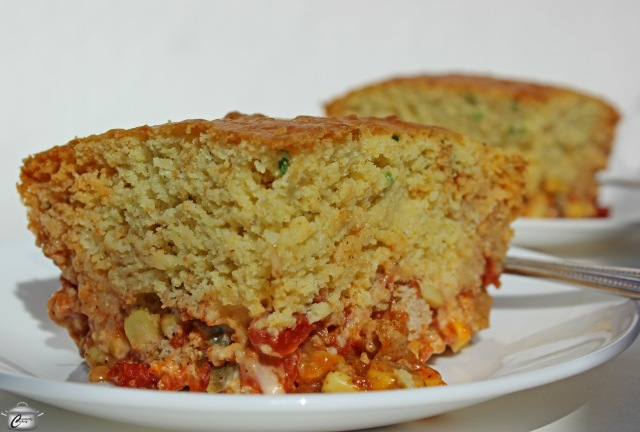 Tamale Pie with Cornbread Topping