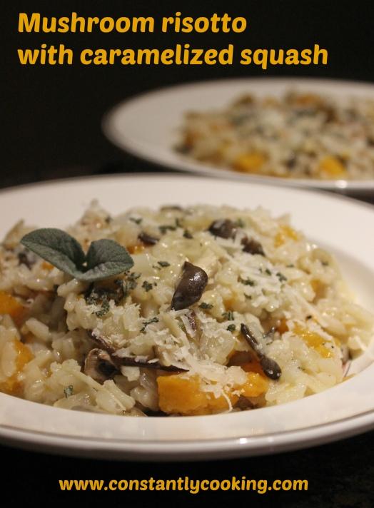 mushroom risotto pinnable