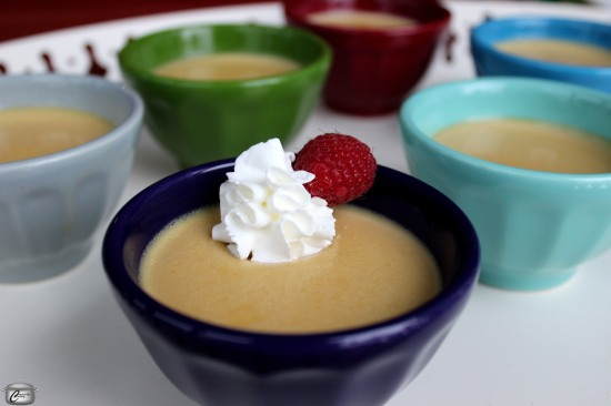 I like to call this dessert 'pudding for grownups' but the whole family will love it.