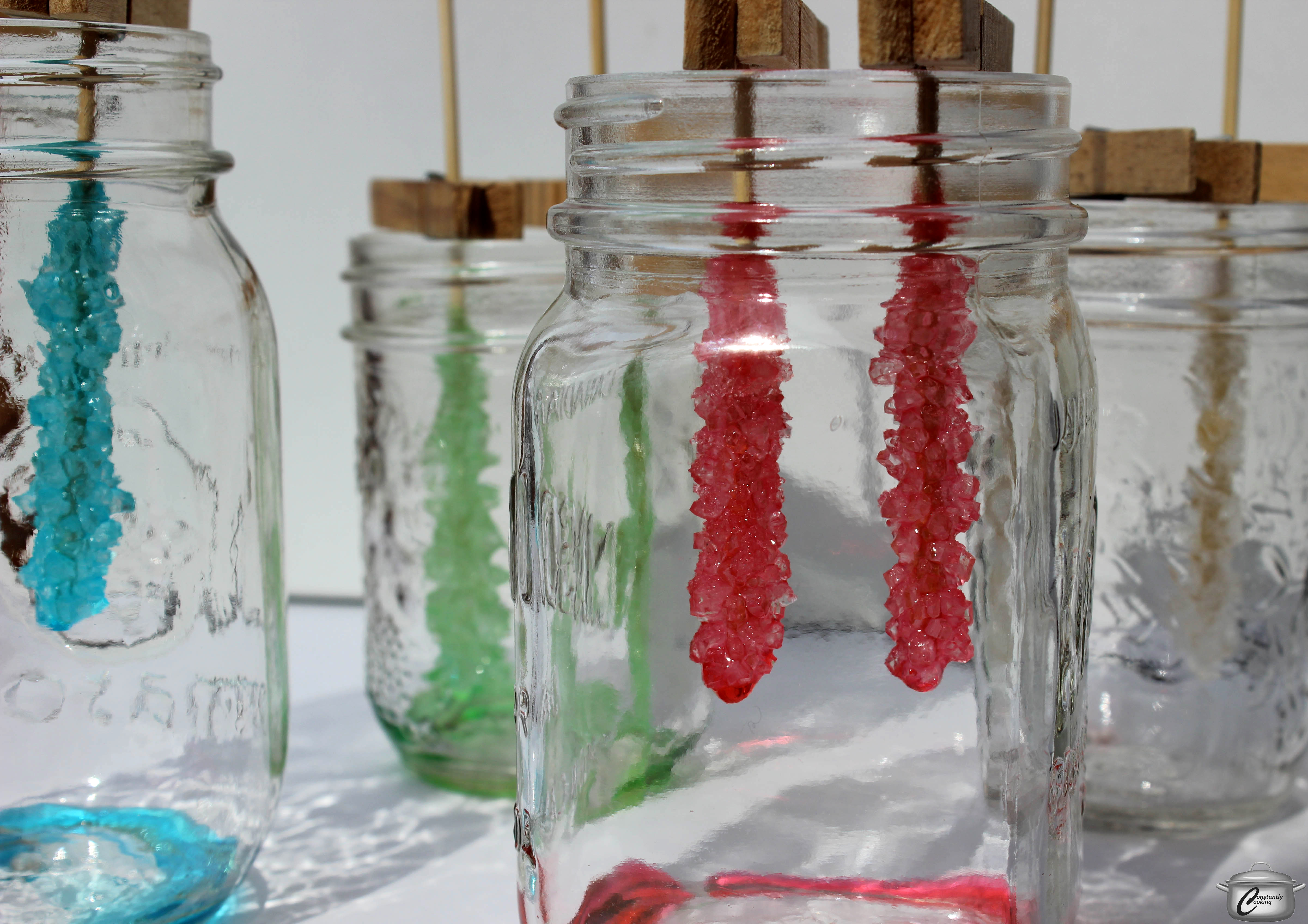 Edible Science Homemade Rock Candy Constantly Cooking