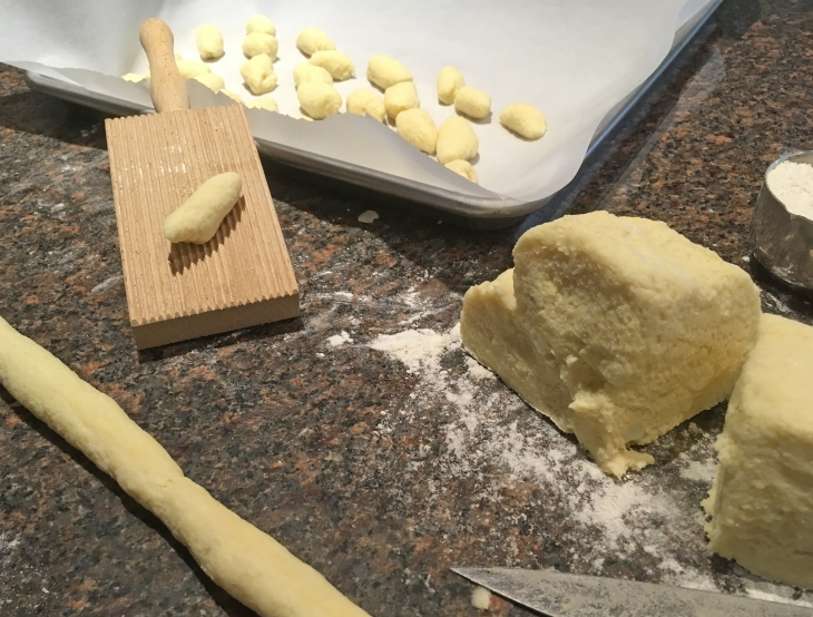making gnocchi at home