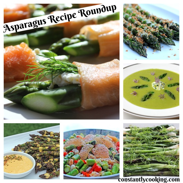 There are so many delicious ways to prepare asparagus - find great recipes at constantlycooking.com