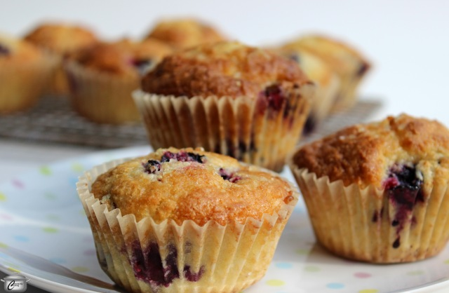 These rich, delicious muffins get their flavour from lemon, ginger, sour cream and blueberries