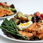A classic French salad gets a delicious makeover with smoked salmon