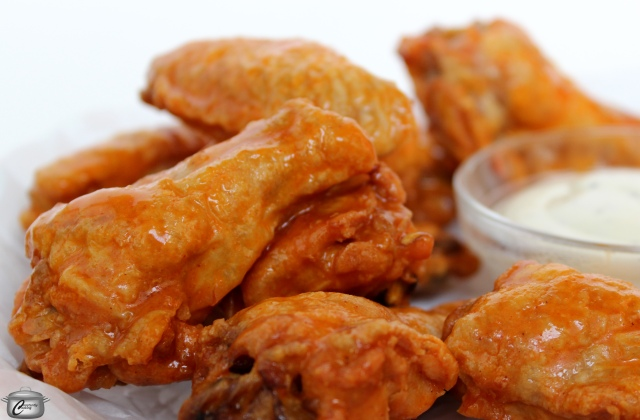super crispy oven-baked chicken wings are so delicious and so easy to make