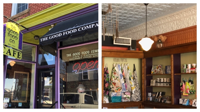 The Good Food Co.  Cafe is a perfect breakfast, brunch or lunch spot in Carleton Place.