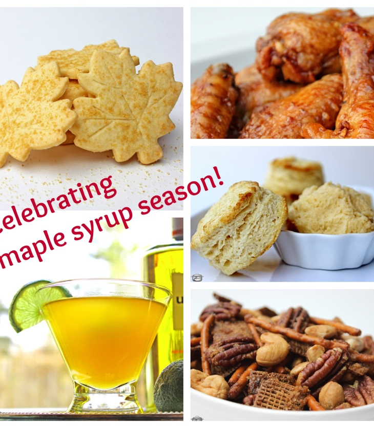 There are lots of great recipes for cooking with maple syrup on the Constantly Cooking website