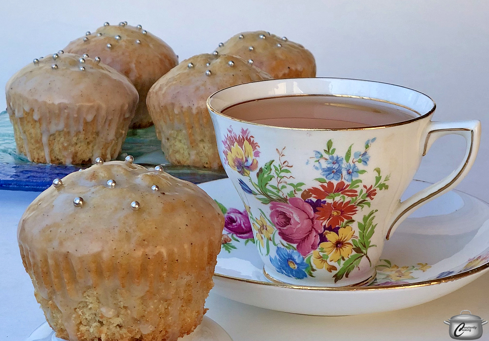 London Fog tea cakes – Constantly Cooking